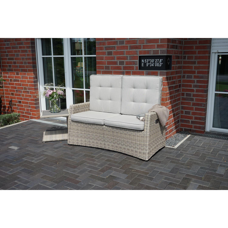 2-Sitzer Comfort Speise-/ Loungesofa Sahara