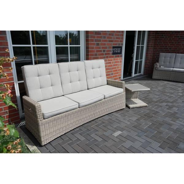 3-Sitzer Comfort Speise-/ Loungesofa Sahara