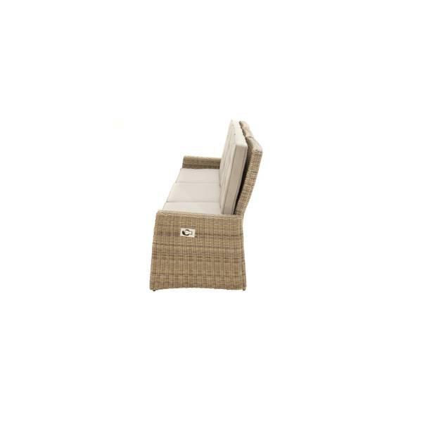 3-Sitzer Comfort Speise-/ Loungesofa Sahara – Bild 5