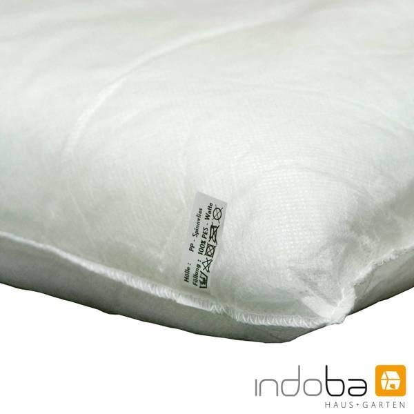 2x indoba - Kopfkissen Serie Premium - extra dick - Beige – Bild 8