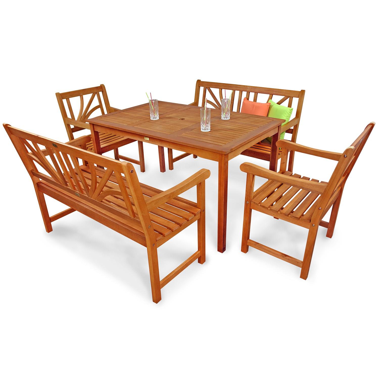 gartenm bel set gartensitzgruppe 4 gartenst hle gartenset. Black Bedroom Furniture Sets. Home Design Ideas