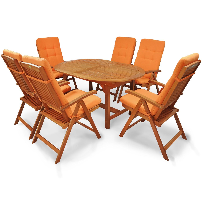 gartengarnitur sitzgruppe holzm bel gartenm bel set mit. Black Bedroom Furniture Sets. Home Design Ideas