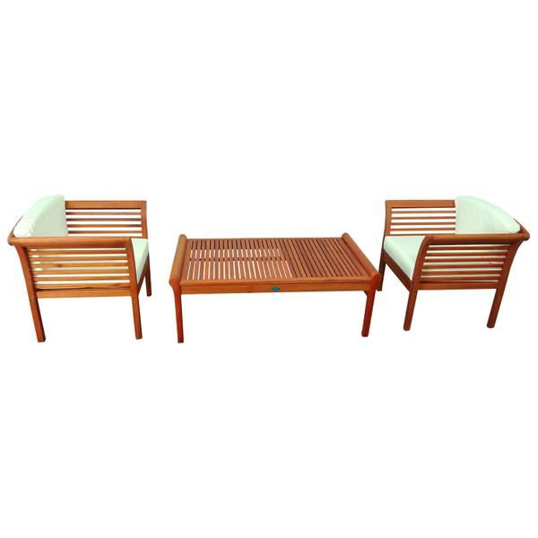 Gartenmöbel Set 3-teilig Samoa - Serie Samoa - GTX-73022-SASE3 – Bild 2