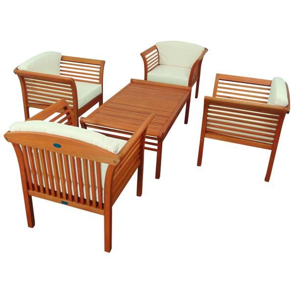 Gartenmöbel Set 5-teilig Samoa - Serie Samoa - GTX-73023-SASE5 – Bild 2