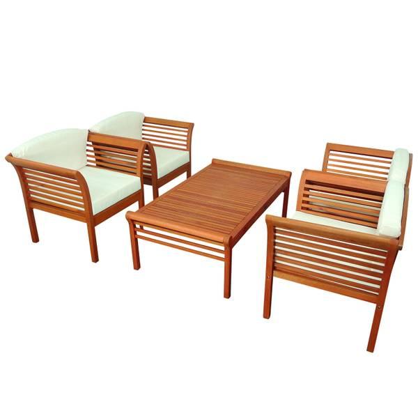 Gartenmöbel Set 5-teilig Samoa - Serie Samoa - GTX-73023-SASE5