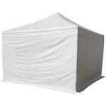 4x4m ALU Profi Faltzelt Marktzelt Marktstand Tent 50mm Hex mit Metallgelenken und FEUERHEMMENDEN PLANEN