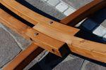 320cm Hängemattengestell ARADOS aus Holz Lärche mit Stab Hängematte - Bild 8
