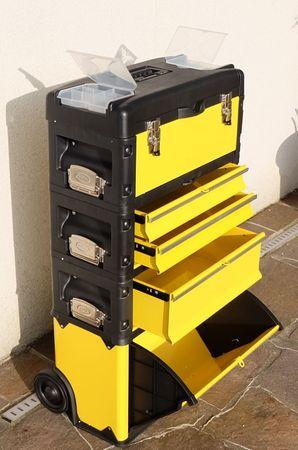 Metall Werkzeugtrolley XXL Type B305ABCD -> jetzt neu mit Schubladenverriegelung und Schloss – Bild 3