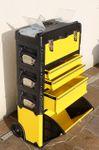 Metall Werkzeugtrolley XXL Type B305ABCD -> jetzt neu mit Schubladenverriegelung und Schloss - Bild 3