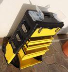 Metall Werkzeugtrolley XXL Type B305ABCD -> jetzt neu mit Schubladenverriegelung und Schloss - Bild 2