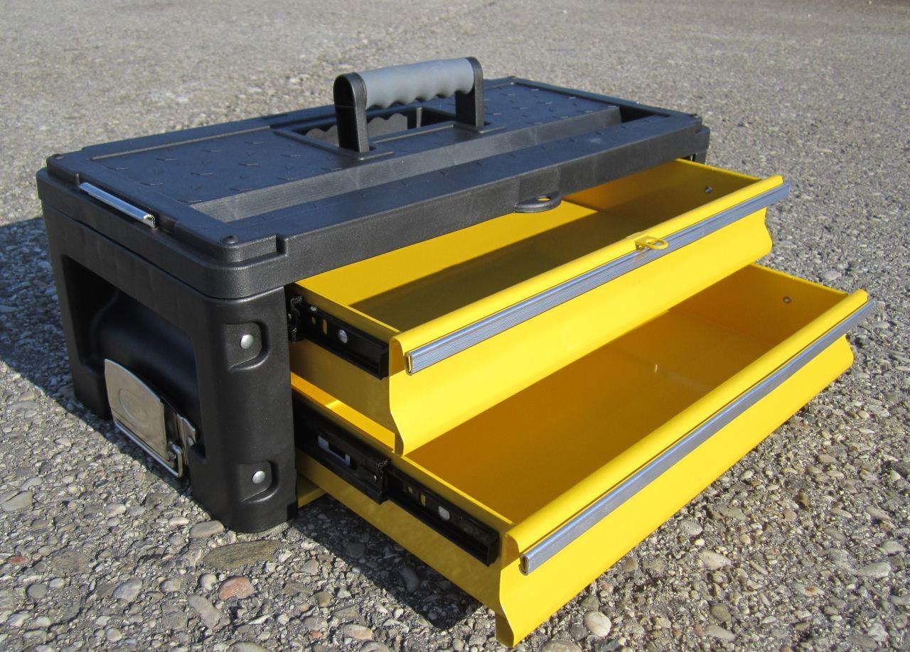 erweiterungsbox werkzeugkiste mit 2 laden erweiterung f r unsere trolleys serie 305 werkzeug. Black Bedroom Furniture Sets. Home Design Ideas