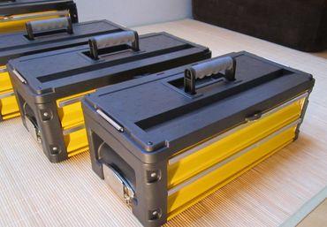 Metall Werkzeugtrolley XXL Type 305BBBB -> jetzt neu mit Schubladenverriegelung und Schloss – Bild 5