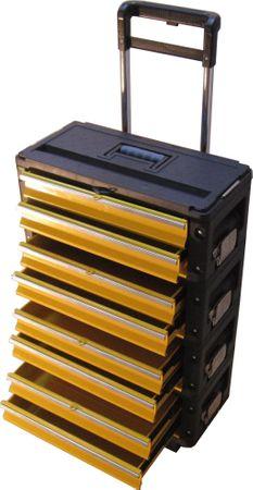 Metall Werkzeugtrolley XXL Type 305BBBB -> jetzt neu mit Schubladenverriegelung und Schloss