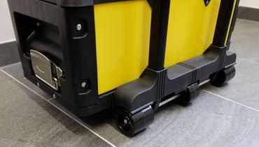 Metall Werkzeugtrolley XXL Type 305BBBB -> jetzt neu mit Schubladenverriegelung und Schloss – Bild 3