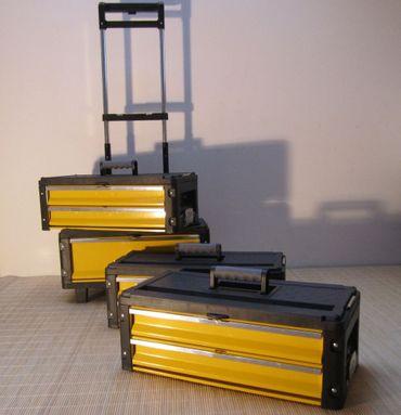 Metall Werkzeugtrolley XXL Type 305BBBC -> jetzt neu mit Schubladenverriegelung und Schloss – Bild 4