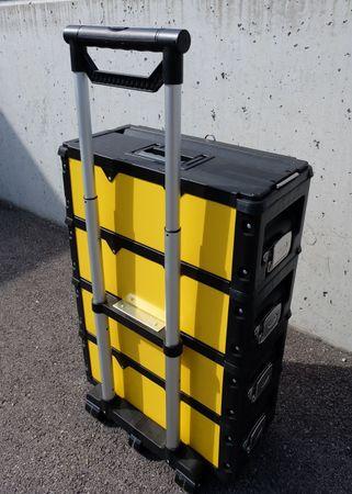 Metall Werkzeugtrolley XXL Type 305BBBC -> jetzt neu mit Schubladenverriegelung und Schloss – Bild 7