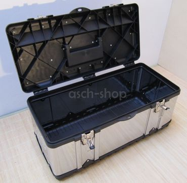 Werkzeugkiste Materialbox EDELSTAHL Type 302XXL 58x30x26 cm – Bild 4