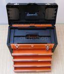 METALL Werkzeugkiste mit 8 Funktionen 3061BB  - Bild 5