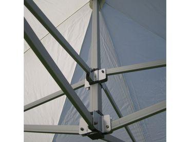 6x3m ALU Profi Faltzelt Marktzelt Marktstand Tent 40mm QUAD mit Metallgelenken und FEUERHEMMENDEN PLANEN – Bild 5