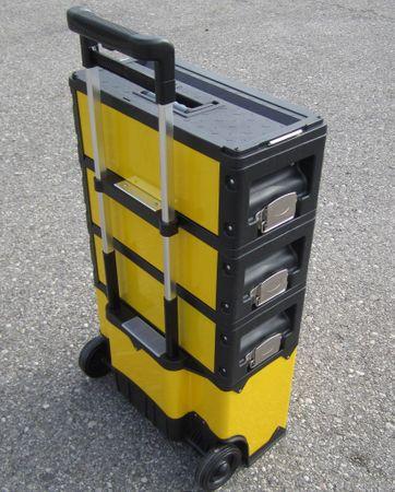 Metall Werkzeugtrolley XXL Type 305BBCD -> jetzt neu mit Schubladenverriegelung und Schloss – Bild 6
