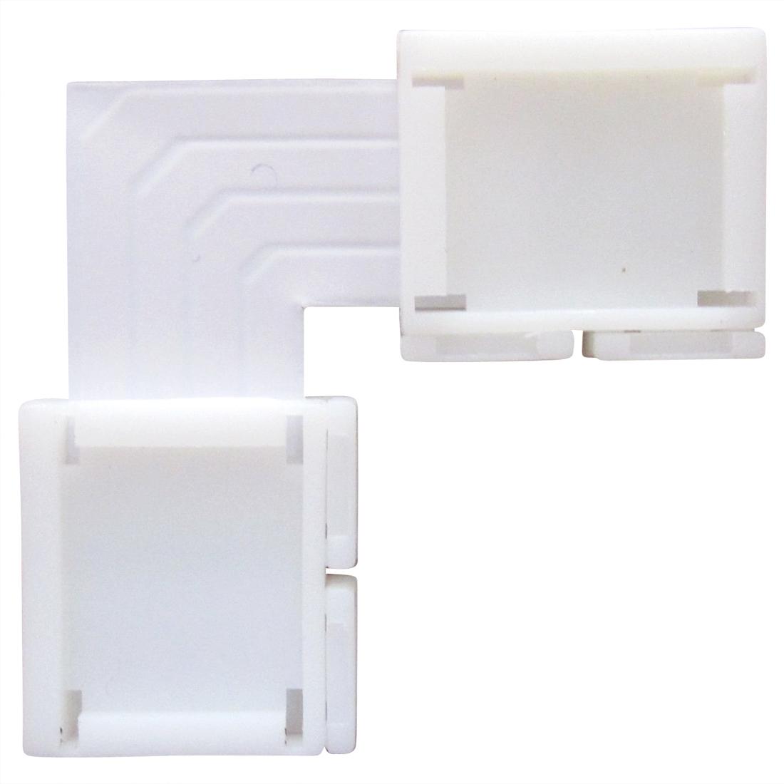 led streifen rgb eck 90 mit 2 verbindern led rgb led. Black Bedroom Furniture Sets. Home Design Ideas