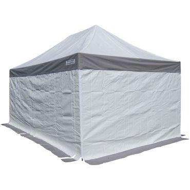 8x4m ALU Profi Faltzelt Marktzelt Marktstand Tent 50mm Hex mit Metallgelenken und PVC PLANEN FEUERHEMMENDEN