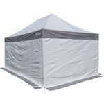 4x4m ALU Profi Faltzelt Marktzelt Marktstand Tent 50mm Hex mit Metallgelenken und PVC PLANEN FEUERHEMMENDEN