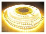SET 2660 Lumen 5m Led Streifen 600 LED warmweiß mit Dimmer und Fernbedienung inkl. Netzteil 24V Pro Serie TÜV/GS geprüft - Bild 1
