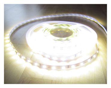 6250 Lumen 5m Ultra-Highpower LED Streifen mit 300 2835 LED's neutralweiß natur weiss naturweiß superhell 24V ohne Netzteil