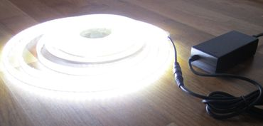 SET 2760 Lumen 5m Led Streifen 600 LED neutralweiß inkl. Netzteil 24V (Pro-Serie) TÜV/GS geprüft – Bild 4