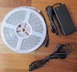 SET 2500 Lumen 10m Led Streifen 600 LED warmweiß warm weiß wasserfest IP65 inkl. Netzteil 24V Pro-Serie TÜV/GS geprüft - Bild 3