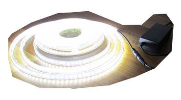 SET 2500 Lumen 10m Led Streifen 600 LED neutralweiß wasserfest IP65 inkl. Netzteil 24V Pro-Serie TÜV/GS geprüft