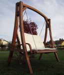 "Design Hollywoodschaukel ""KUREDO 103OD"" aus Holz Lärche - Bild 3"