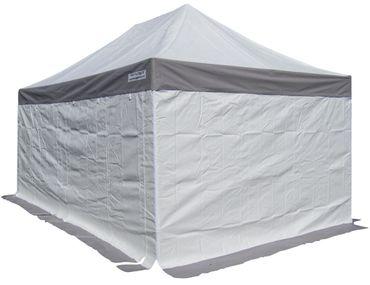 3x4,5m ALU Profi Faltzelt Marktzelt Marktstand Tent 50mm Hex mit Metallgelenken u. PVC PLANEN FEUERHEMMENDEN