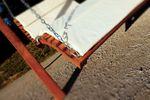 "Design Hollywoodliege ""ARUBA-LOUNGER"" aus Holz Lärche (ohne Gestell) - Bild 4"