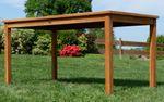 TEAK XL Gartentisch 150x80cm JAV-ALPEN - Bild 6