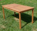 TEAK XL Gartentisch 150x80cm JAV-ALPEN - Bild 4