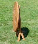 ECHT TEAK Gartentisch Klapptisch Holztisch Gartentisch Tisch rund 80cm JAV-COAMO - Bild 6