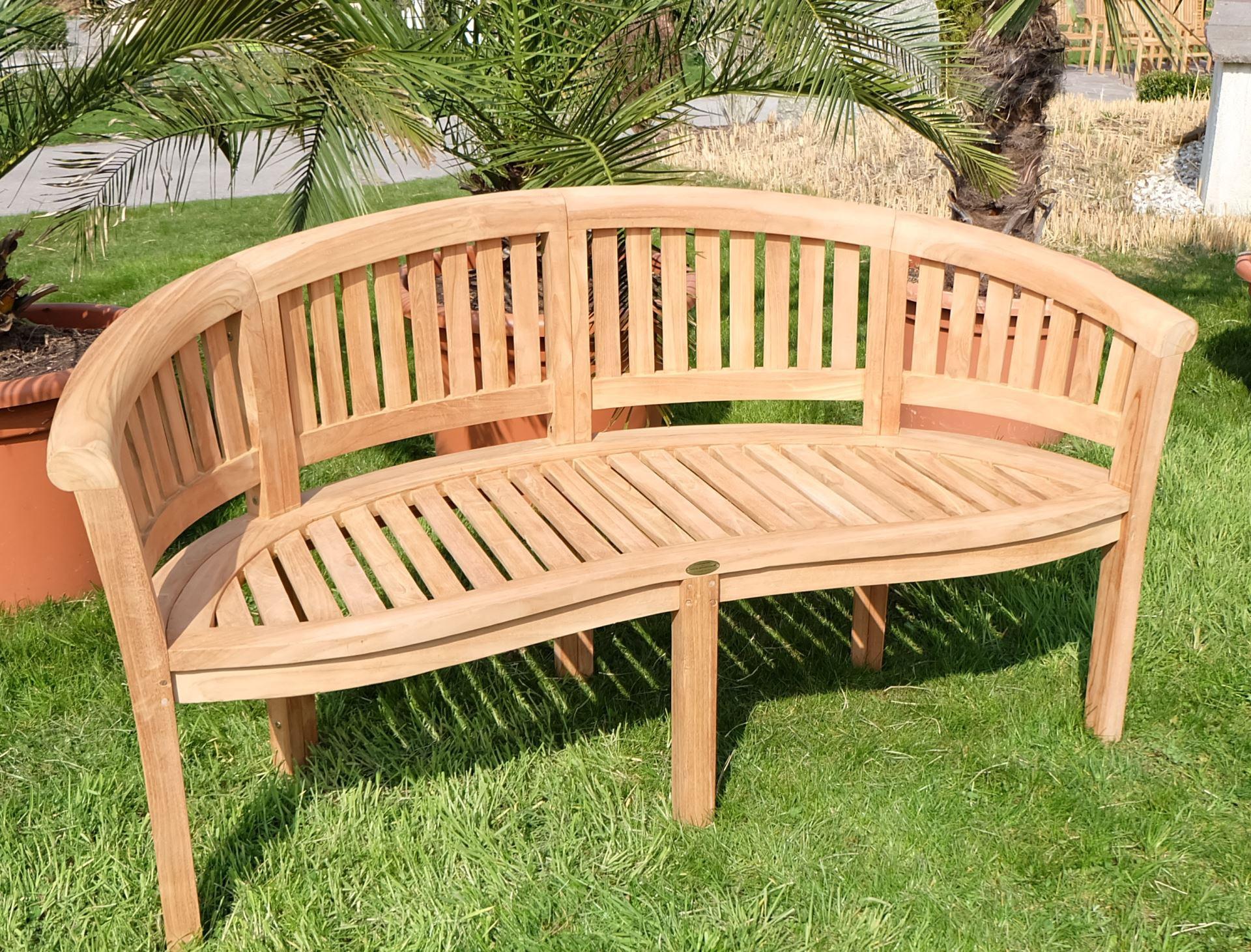 Einzigartig Gartenbank 3 Sitzer Design