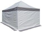 3x3m ALU Profi Faltzelt Marktzelt Marktstand Tent 50mm Hex mit Metallgelenken und PVC FEUERHEMMENDEN PLANEN
