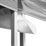 Regenrinne für Profi Faltzelt bis 8 Meter Länge