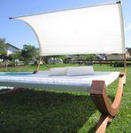 XXL Sonnenliege Doppelliege SAONA Holz Lärche extrabreite Liegefläche für 2 Personen - Bild 9