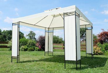 garten pavillons. Black Bedroom Furniture Sets. Home Design Ideas
