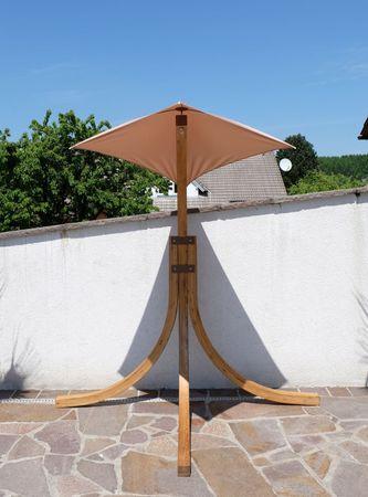 DESIGN Hängesesselgestell NAVASSA aus Holz Lärche (ohne Sessel) – Bild 7