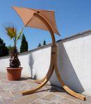 DESIGN Hängesesselgestell NAVASSA aus Holz Lärche (ohne Sessel) - Bild 6