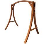 Design Holzgestell MERU GESTELL für Hollywoodschaukel aus Holz Lärche ohne Sitz