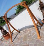 Design Gestell MERU GESTELL für Hollywoodschaukel aus Holz Lärche ohne Sitz - Bild 3