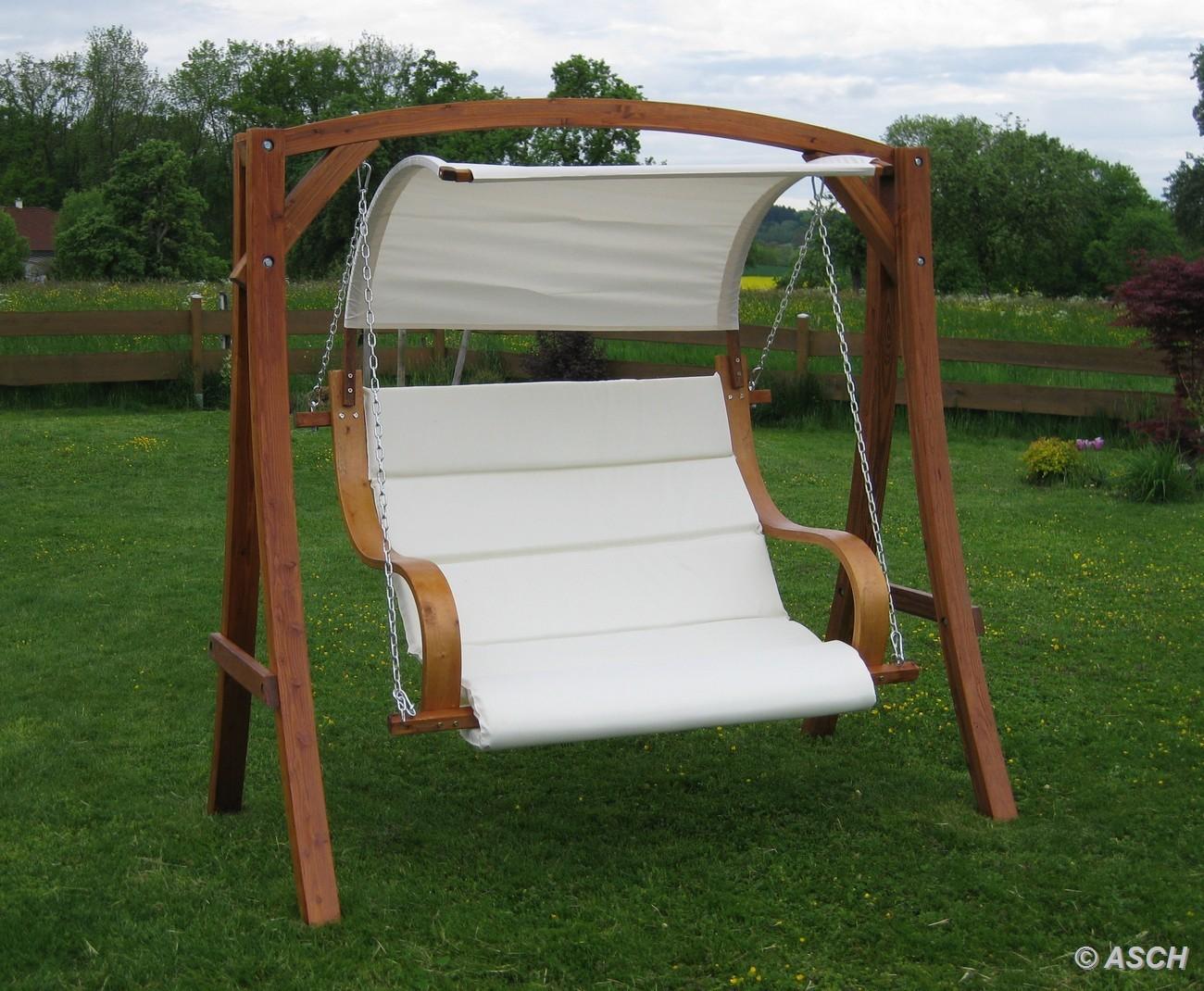 design hollywoodschaukel meru hm101 aus holz l rche. Black Bedroom Furniture Sets. Home Design Ideas