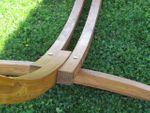 320cm Hängemattengestell SOSUA aus Holz Lärche mit Stab Hängematte - Bild 6