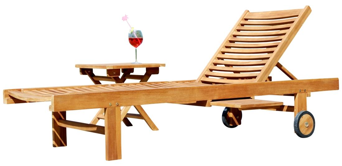 Sonnenliege Klappbar Holz.Hochwertige Teak Sonnenliege Gartenliege Strandliege Liegestuhl Holzliege Holz Sehr Robust Modell Cozy Beistelltisch 45x45cm